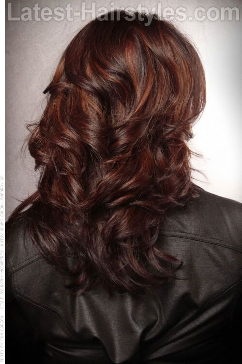Red highlights on dark brown hair the best hair 2017 60 hairstyles featuring dark brown hair with highlights pmusecretfo Images