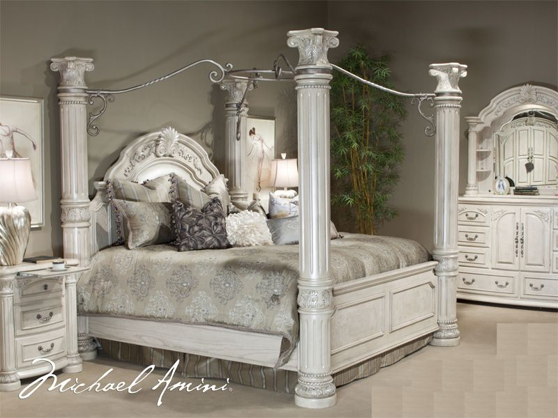 king size canopy bedroom sets |  cal king pc canopy bedroom set