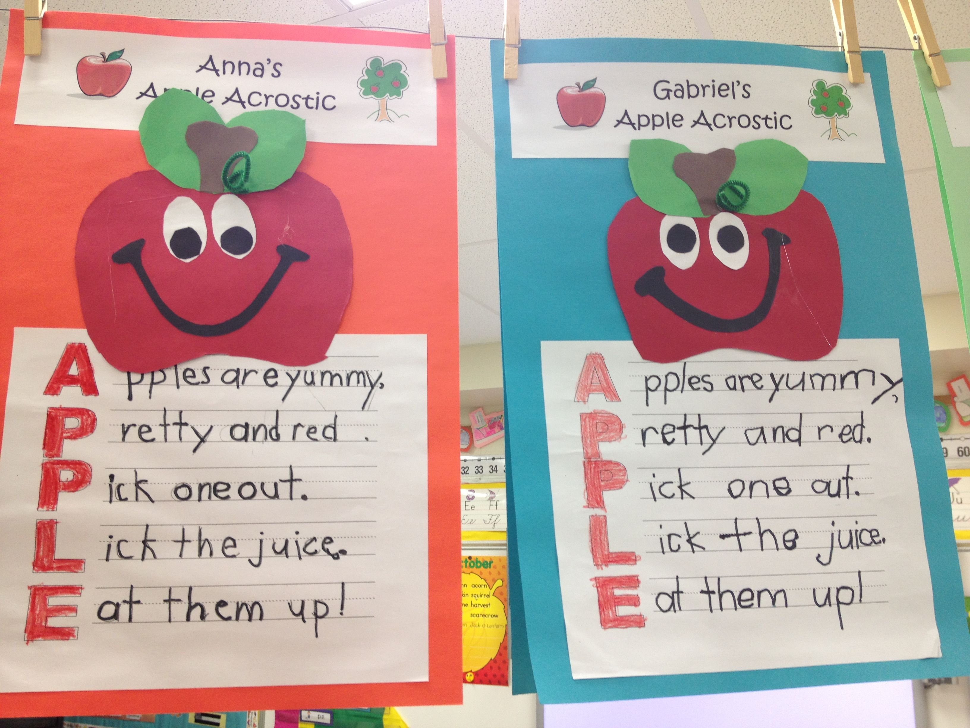 Apple Acrostic Poem