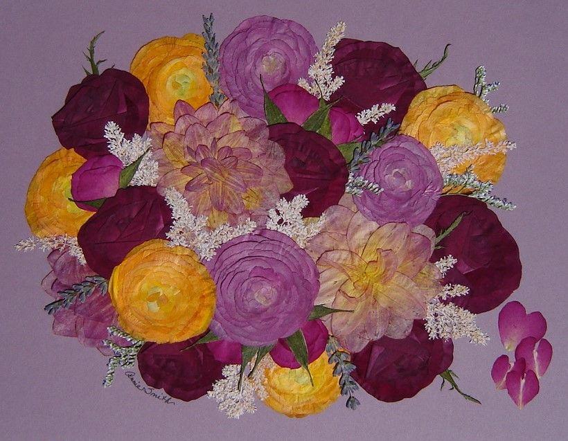 Wedding Flowers, Preserved! Roses, Ranunculous, Dahlias