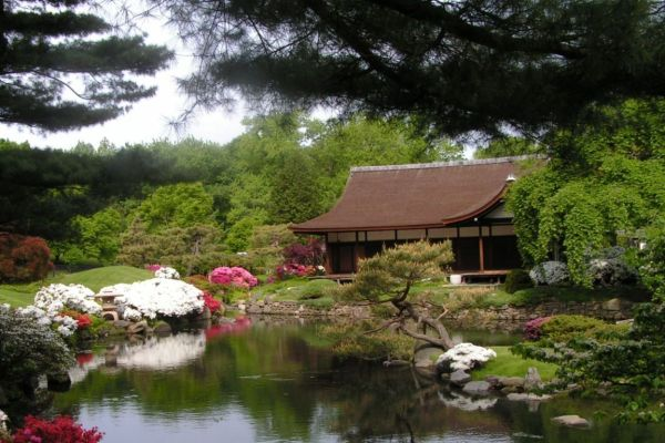 japanese garden house Shofuso Japanese House and Garden – Tour our house, view