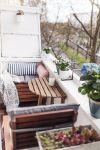 Schön Balkon Wanddeko Schema