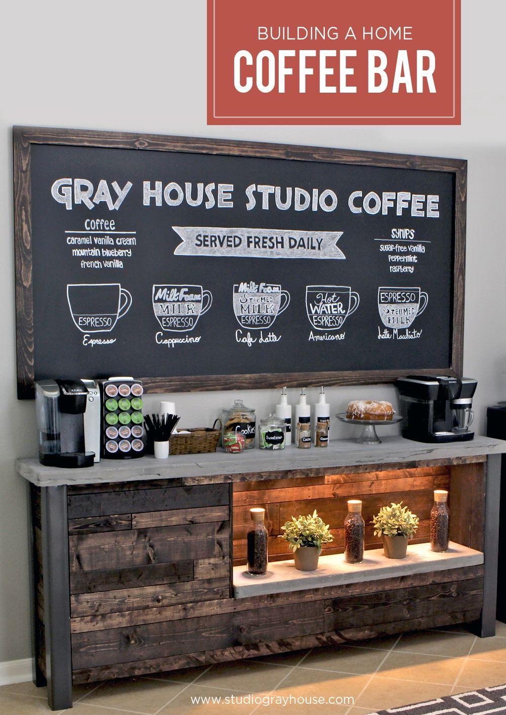 Diy Coffee Bar Breakfast Nooks Coffee Shop And Nook