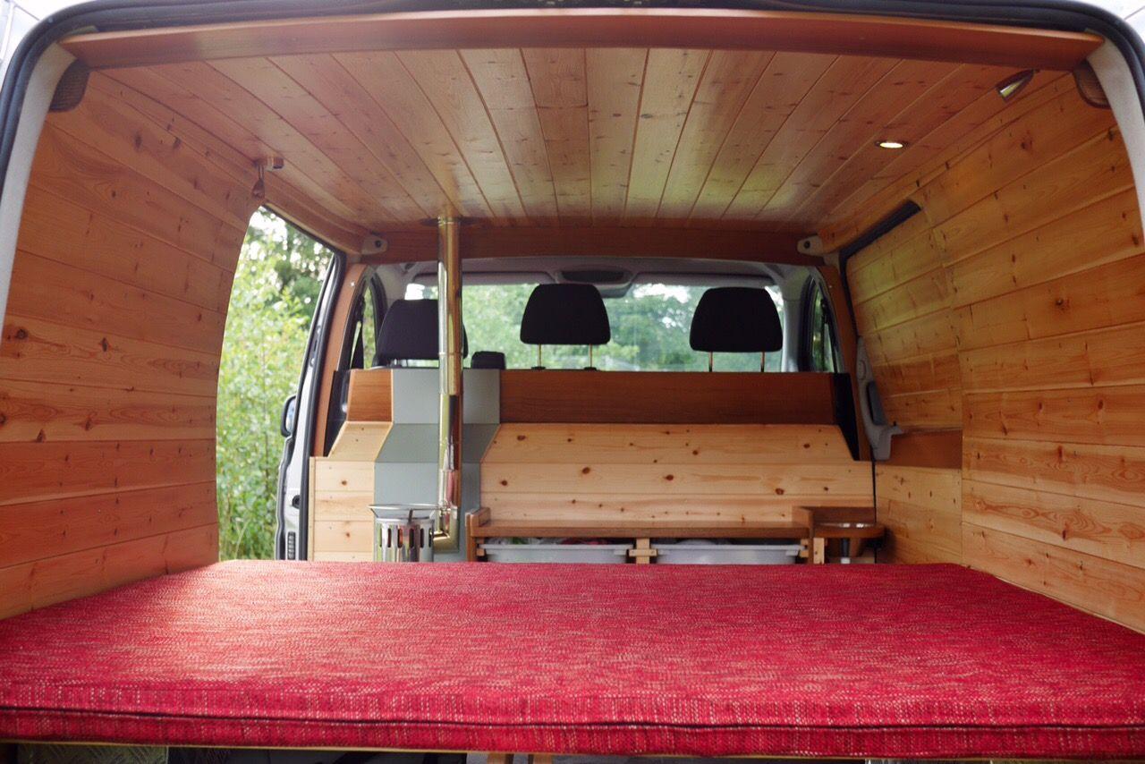 Nice Van Big Bed Real Stove Versatile Gomoose