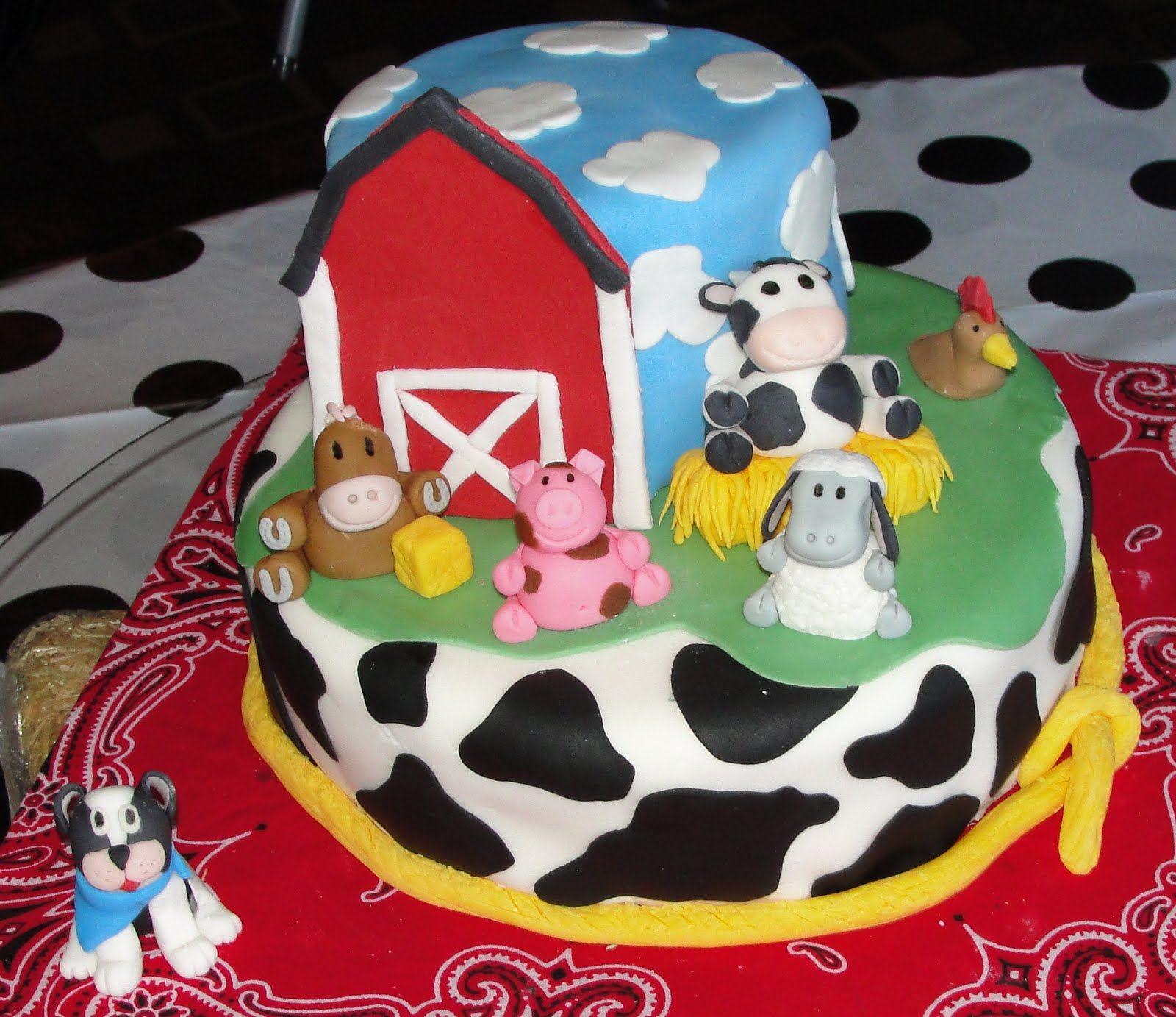 Farm Cakes Ideas For Boys