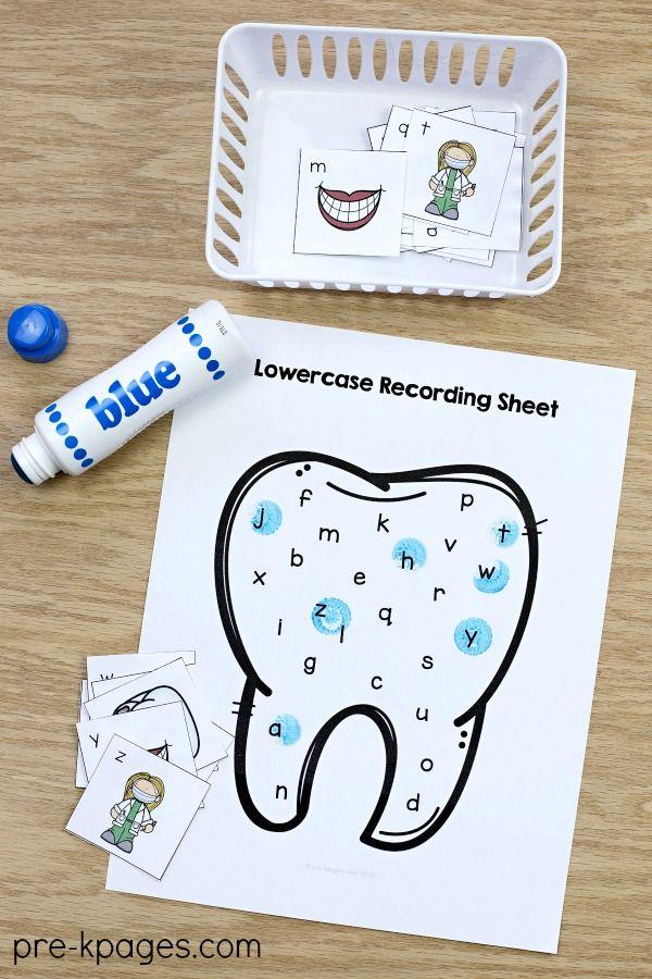 Dental Health Literacy Activities Dental Health