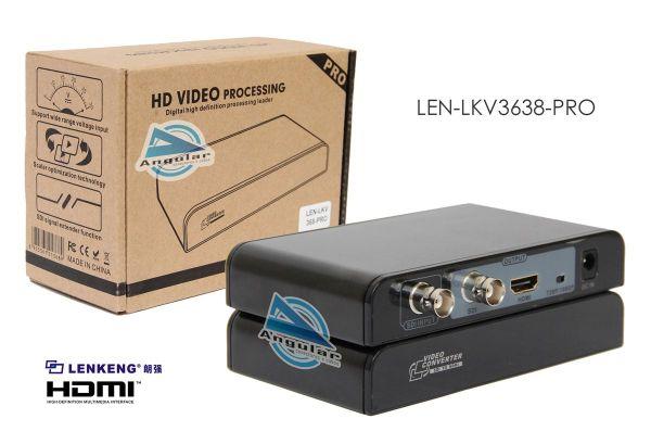 Conversor Profissional SDI para HDMI LENLKV368PRO