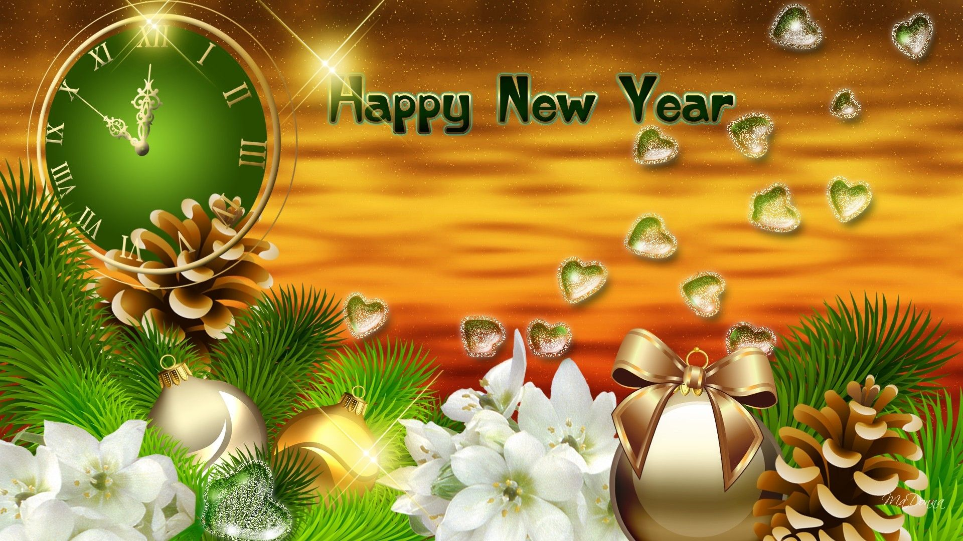 widescreen new year wallpapers