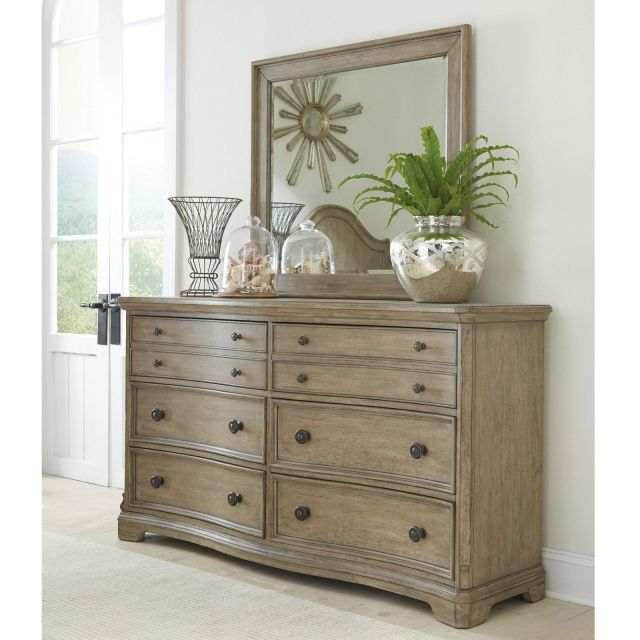 Riverside Corinne 6 Drawer Dresser with Optional Mirror