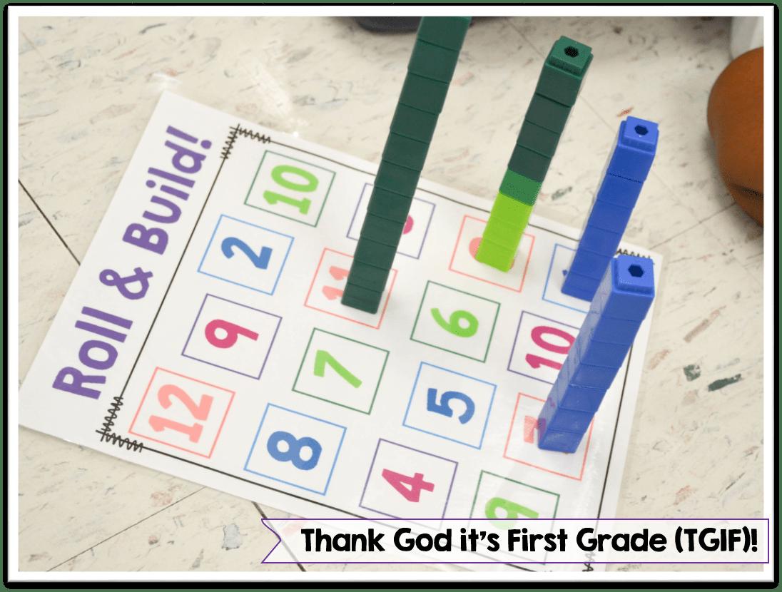 Building Number Sense In Kindergarten And First Grade Plenty Of Hands On Games And Activities