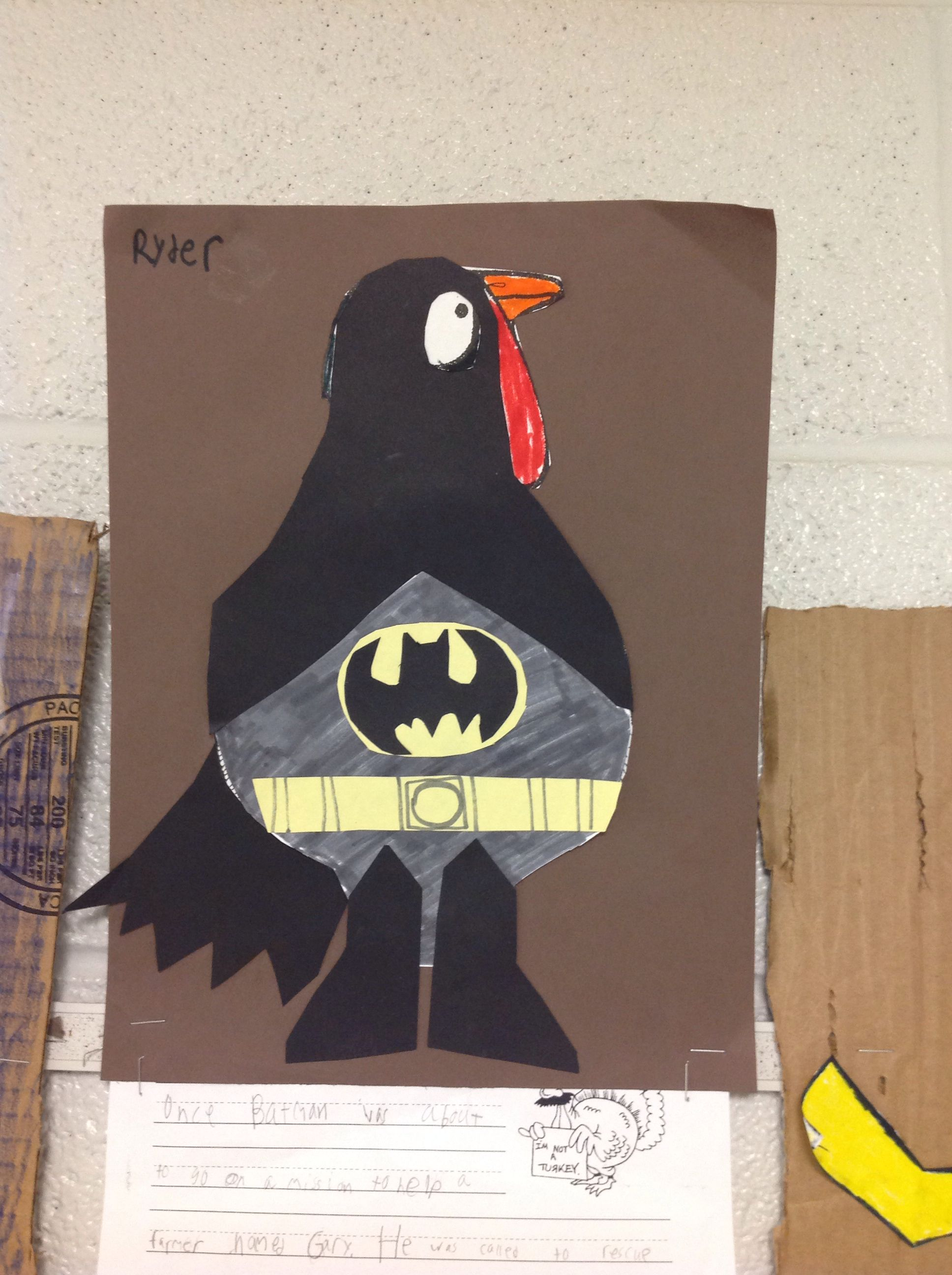 Tom The Turkey Disguise Batman