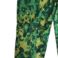 Army costume green army fatigues suit polyester some snags from