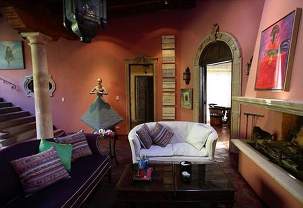 Mexican Interior Paint Ideas