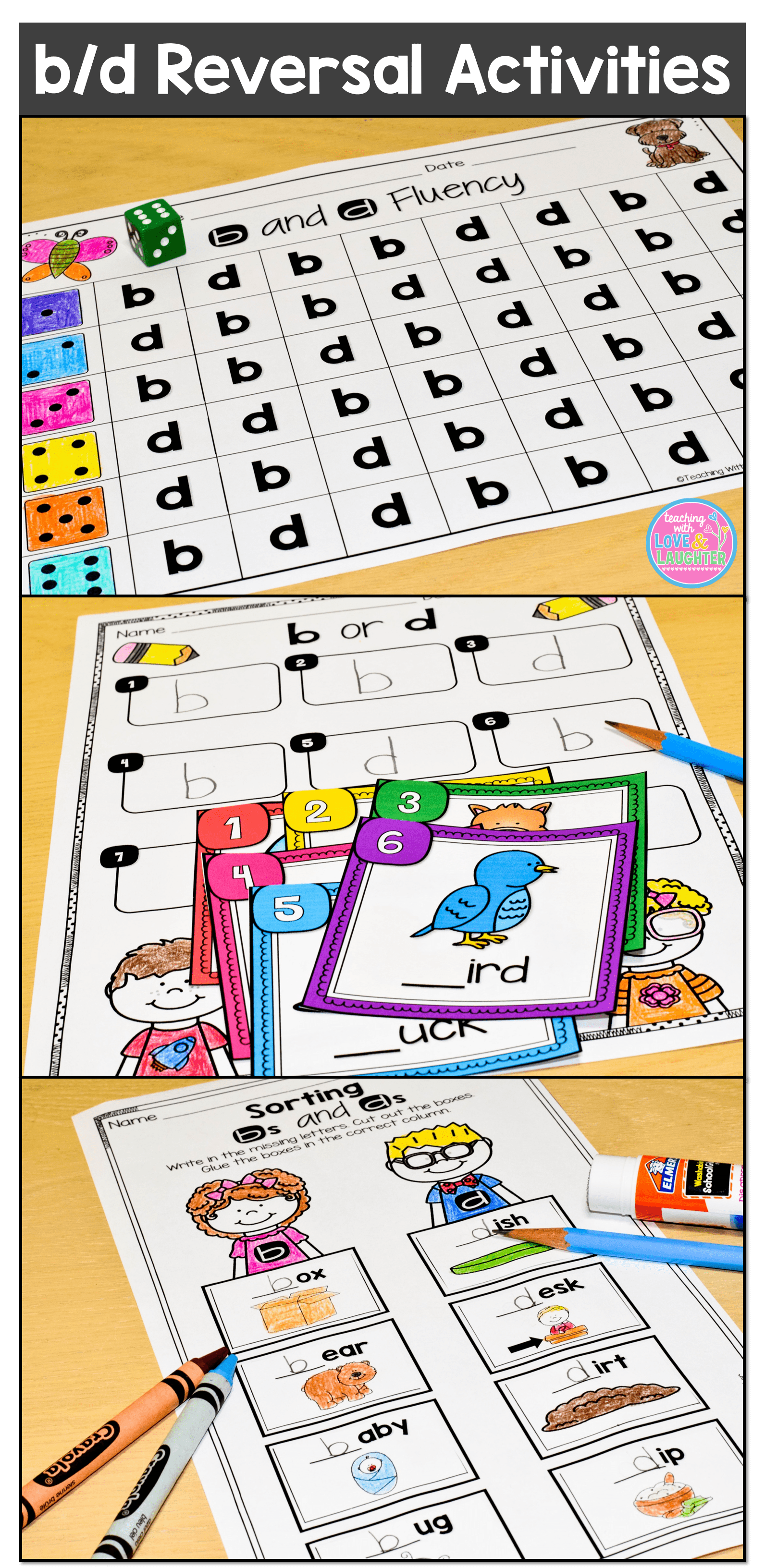 Tons Of Fun And Engaging Activities To Help With B D Reversals