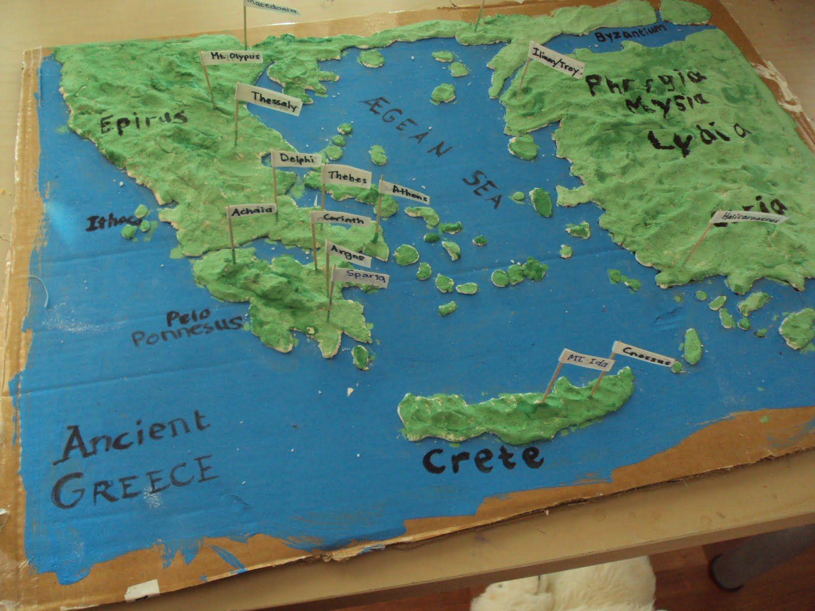 An Experiment In Homeschooling Ancient Greece Salt Dough