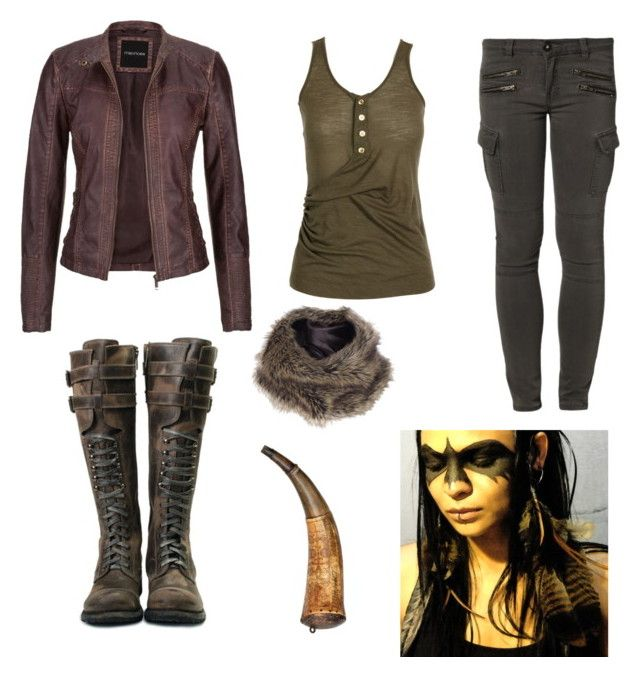"""""""The 100 - grounder"""" by gabbyfangirl liked on Polyvore ..."""