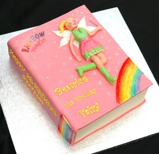 Savannah Would Love This Rainbow Magic Fairy Cake Cake