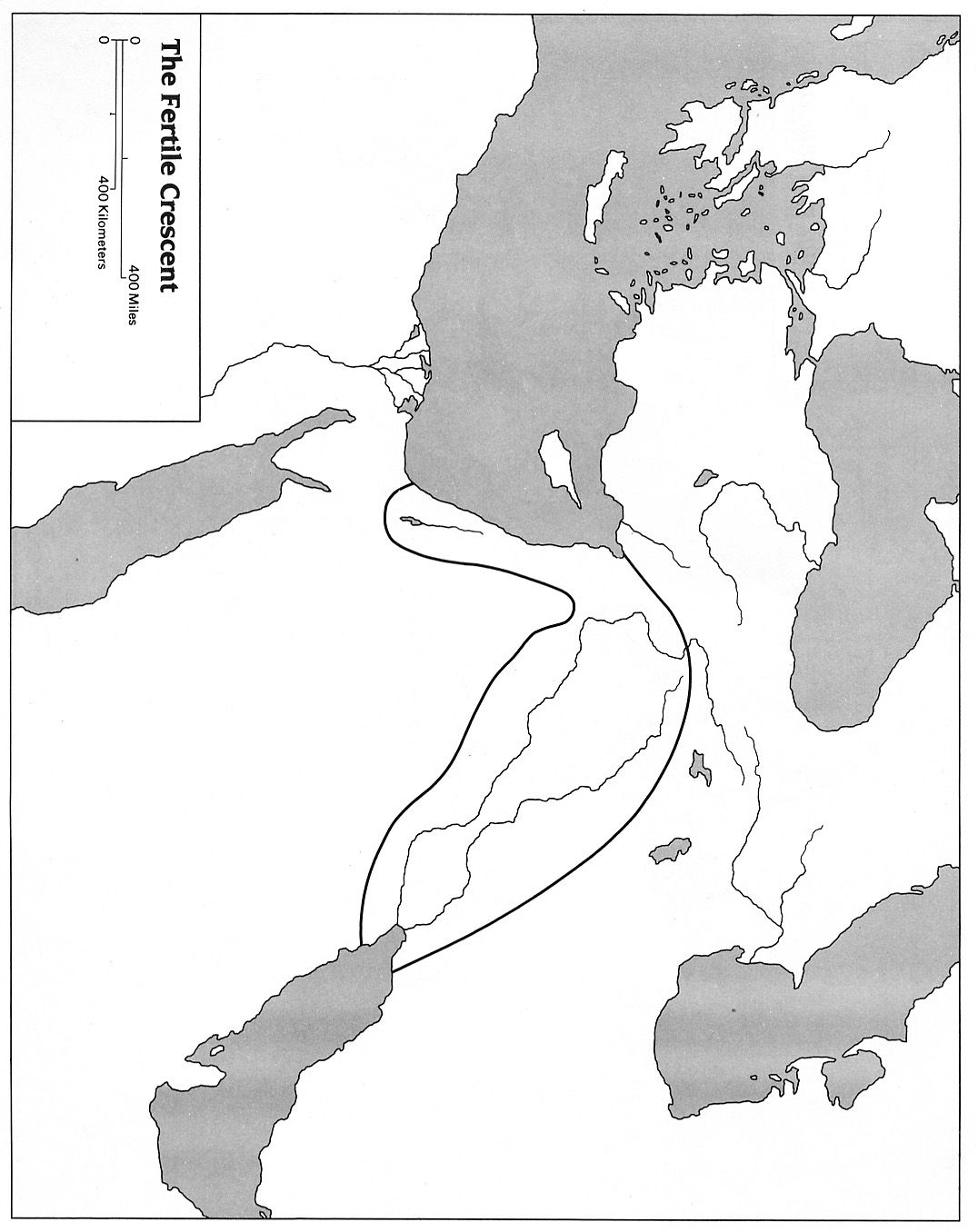 Blank Map Of Mesopotamia For Labeling