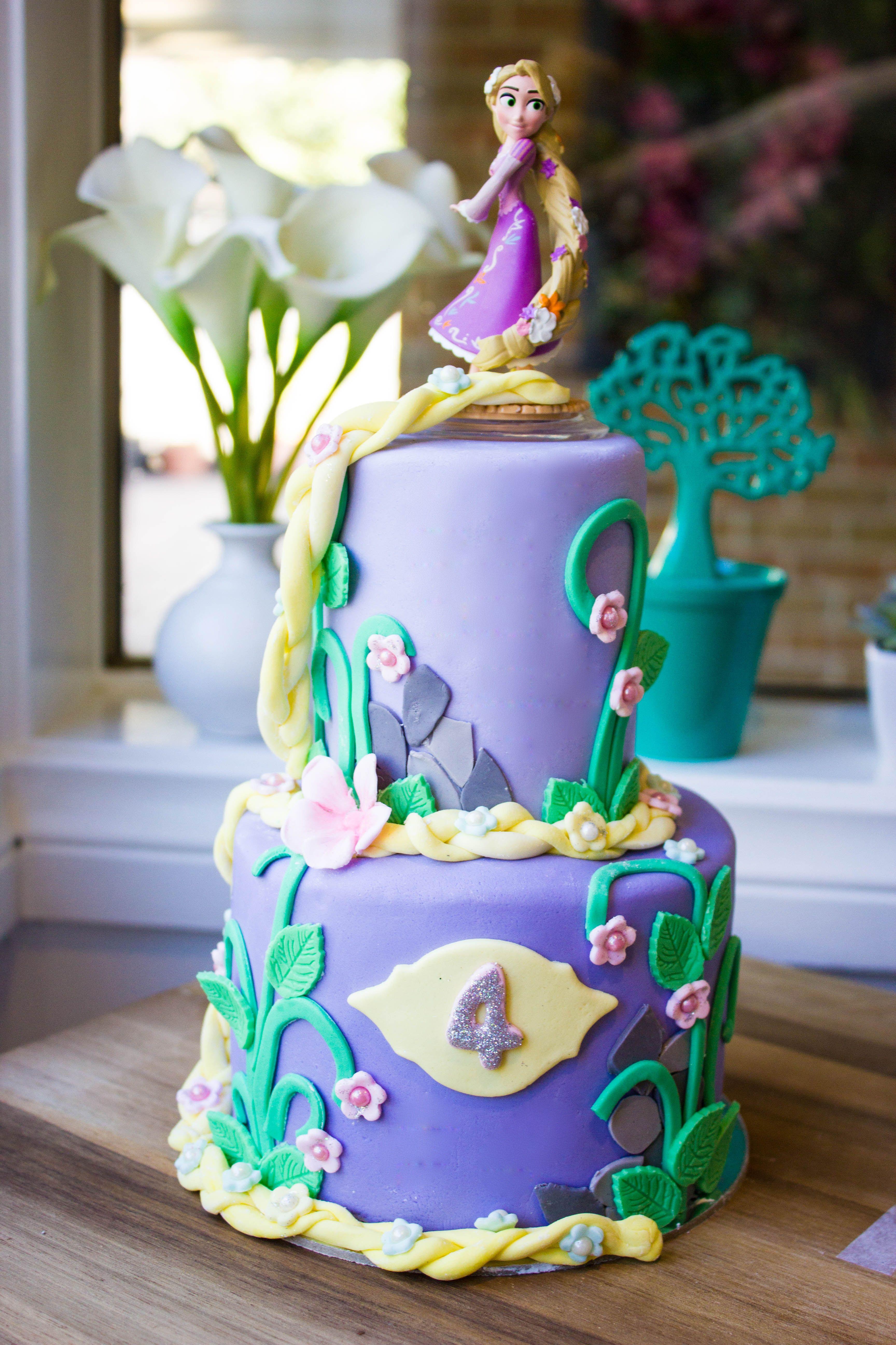 Rapunzel Disney Princess Cake 65 3d Cakes Birthday