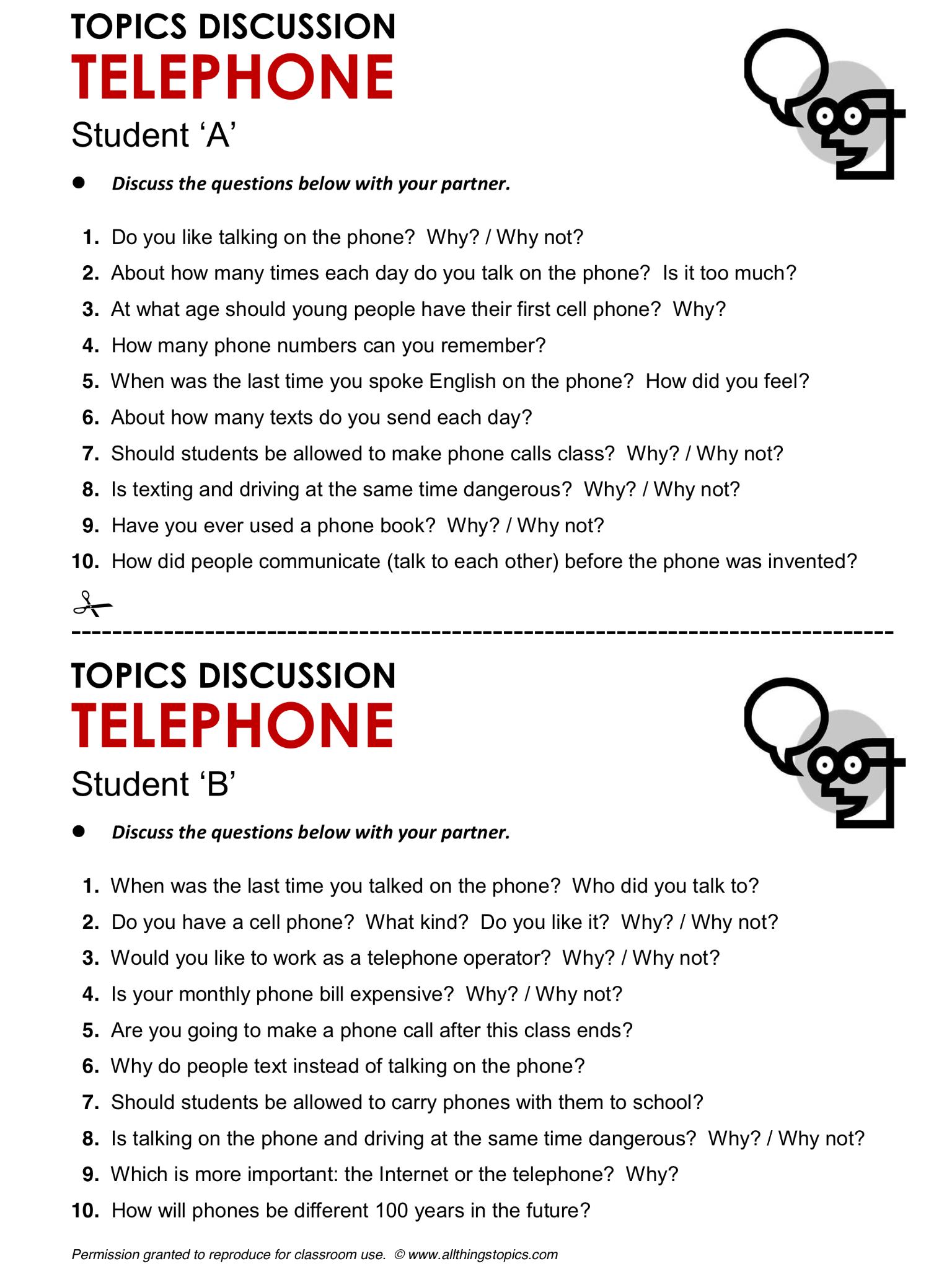Telephone Phone English Learning English Vocabulary