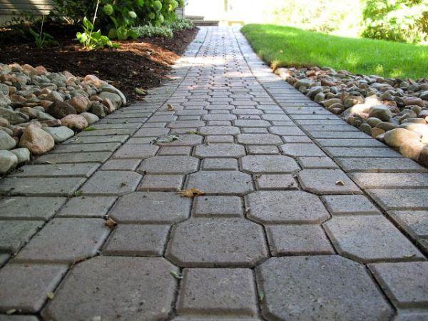 keystone patio pavers designs Keystone Paver Walkway | Outdoors | Pinterest | Paver