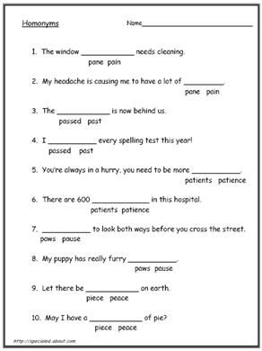 Common Homonyms And Homophones You Should Know
