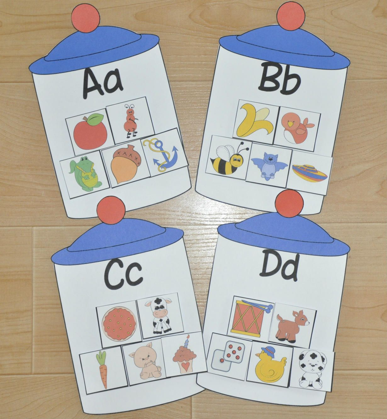 Sort Objects By Beginning Sounds
