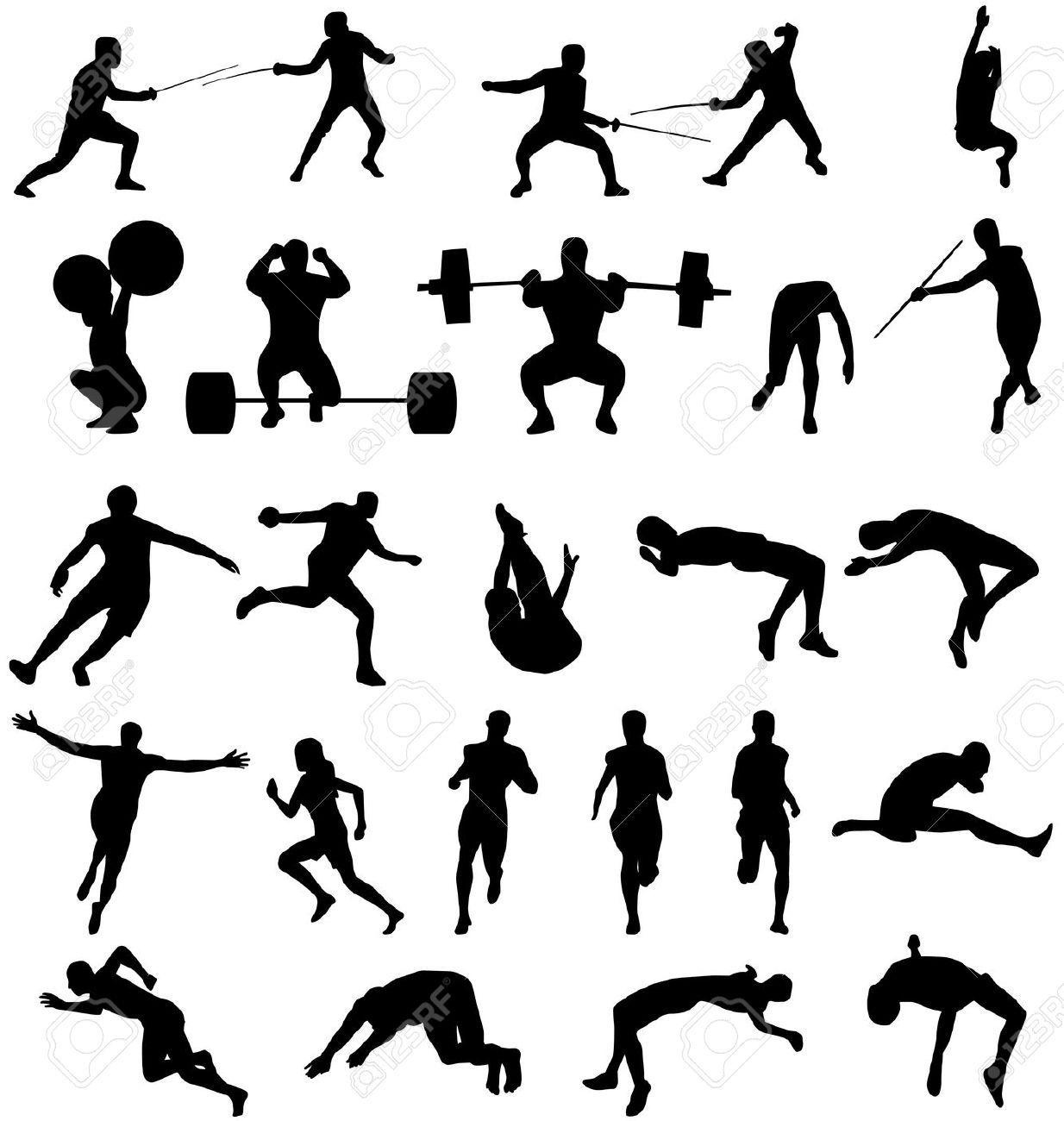 Athlete Silhouette