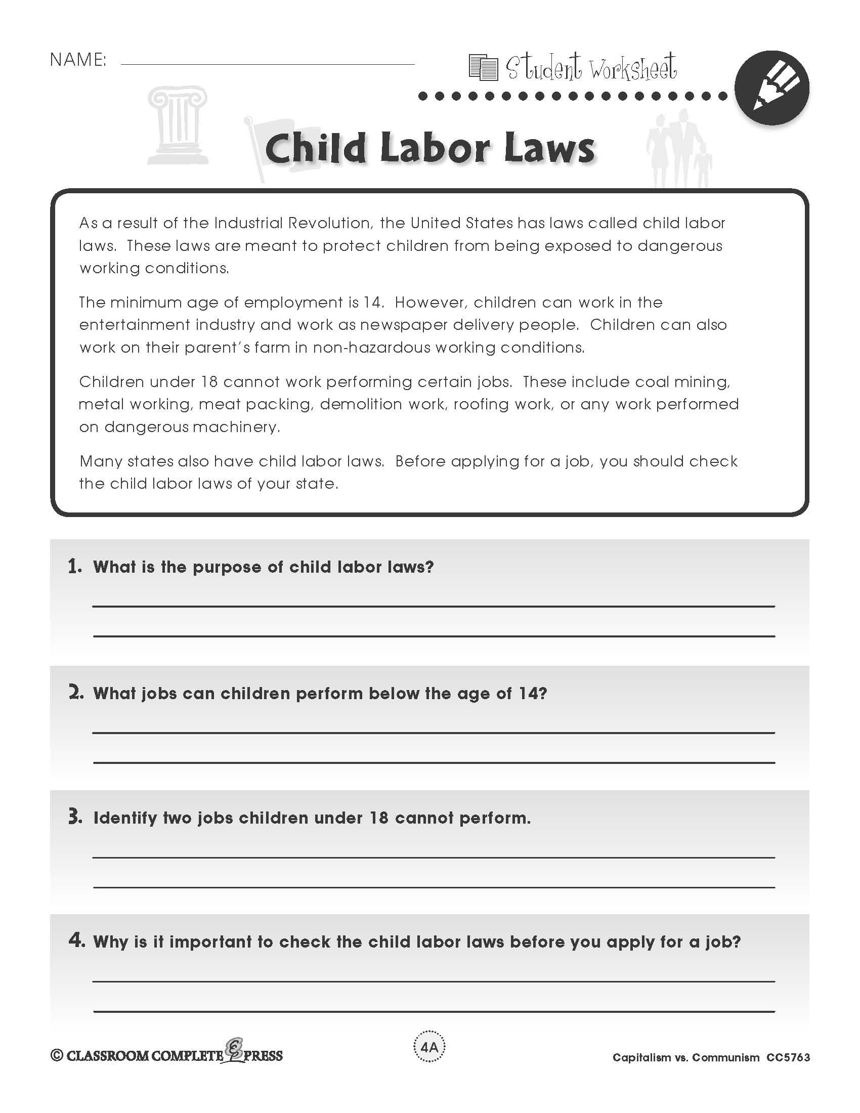 Learn About Child Labor Laws In The U S In This Free