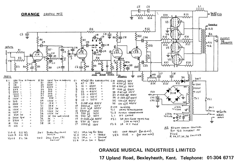 Rickenbacker Amp Schematics