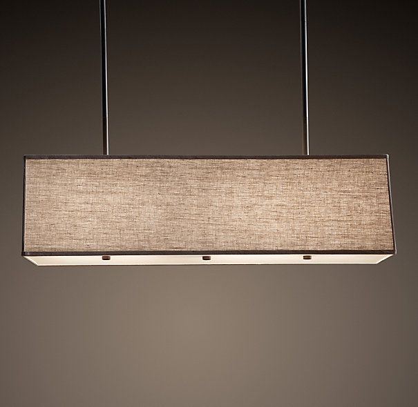 Rectangular Shade Pendant Comes In Grey And Black Too Leave Leaf Table