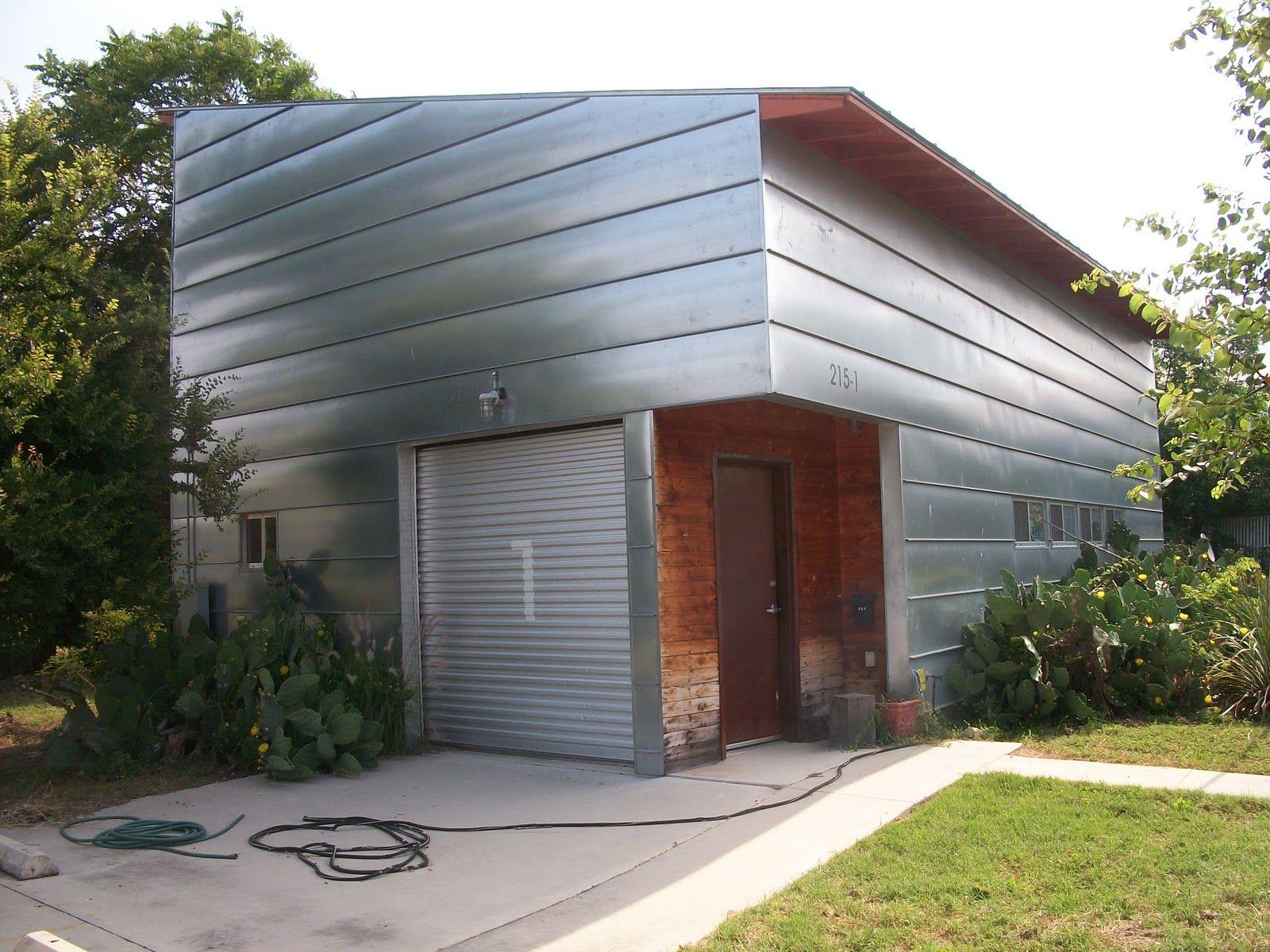 modern house metal siding on Modern Siding  id=62736