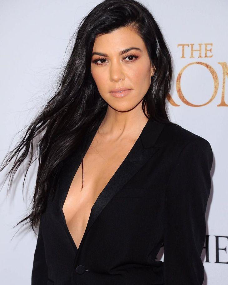 Love the plunge Kourtney Kardashian