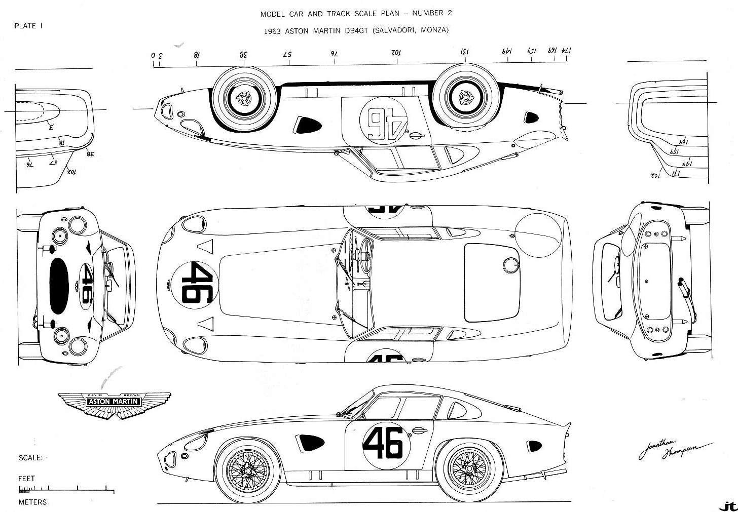 Aston Martin Db4 Gt Dp 214 Chassis R 1 456