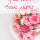 How to make rose water at home rose water benefit and rose