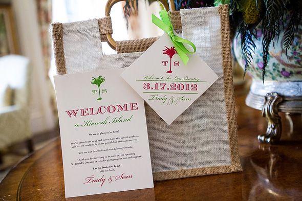 Beach Wedding Gift Bag Ideas