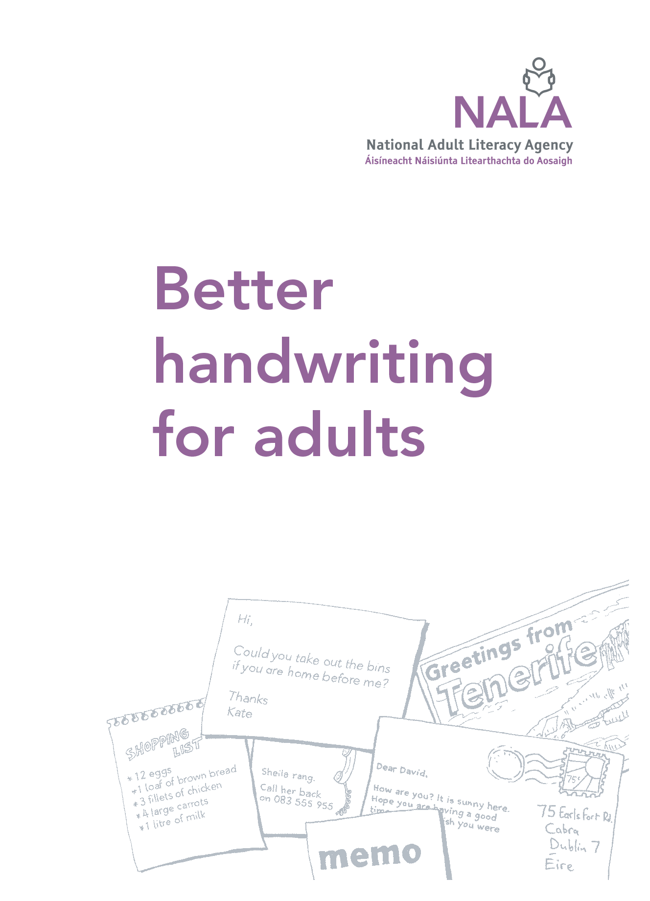 Handwriting Practice For Adults