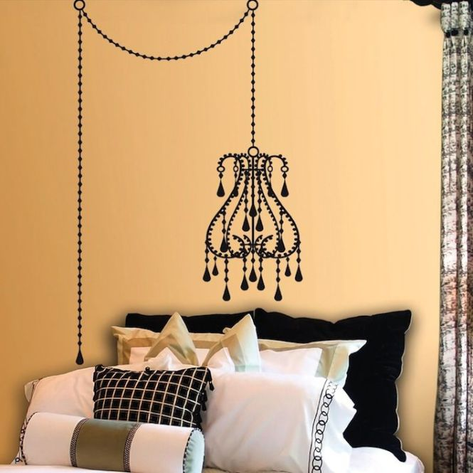 Chandelier Decal
