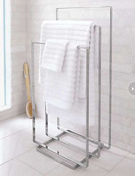 hotel bathroom towel rack - google search | bathrooms | pinterest