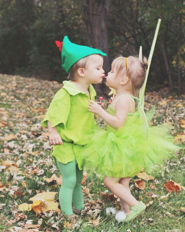 Peter Pan and Tinkerbell   The Twins   Pinterest ...