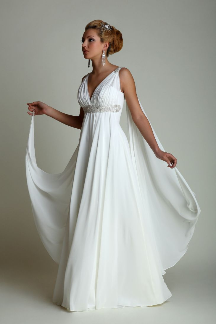 Greek style wedding dresses Foto Prom Pinterest Greek
