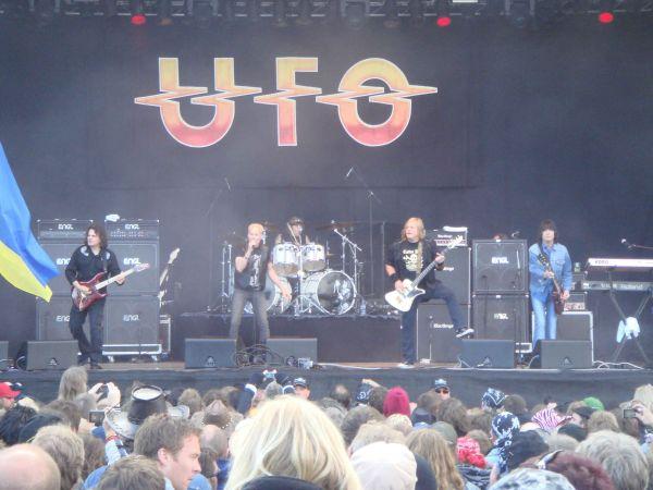 ufo band Sweden Rock Festival 2009 UFO THE ROCK BAND