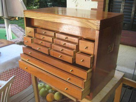 Machinist Tool Chest Plans Started Making Wooden Chests And The In 1920 S Including Pulls Keep Your Tools Sharp Woodsmith Tips