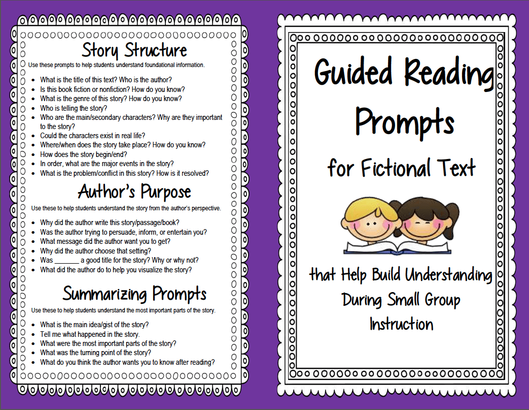 Use These Prompts And Focused Questions To Help Students