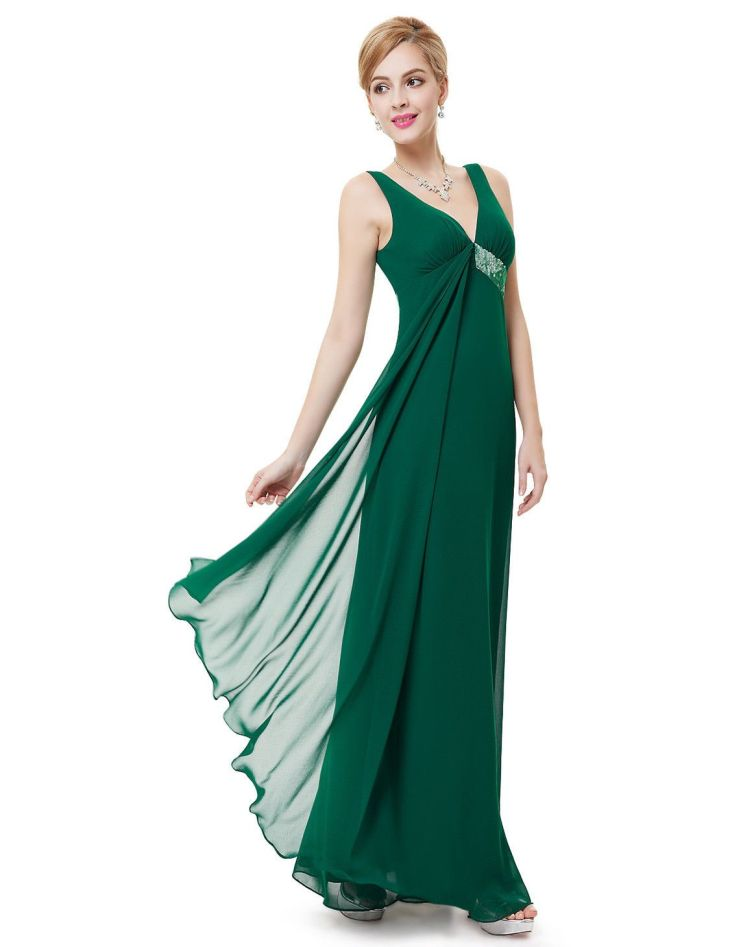 Nice Awesome Women Bridesmaid Evening Maxi Formal Party Prom Dress