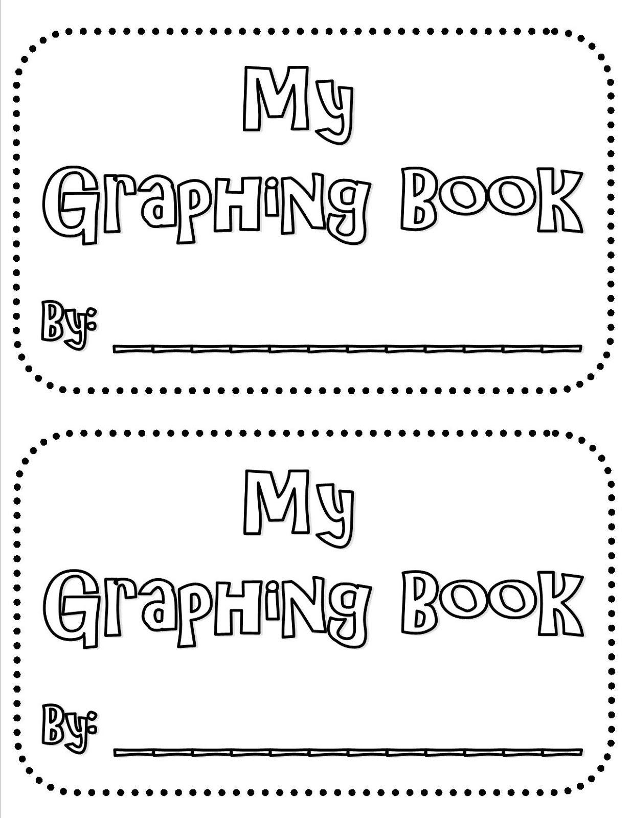 Graphing Mini Book Freebie 1st 3rd Grade Common Core
