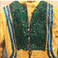 Indian anarkali dress with dupatta scarf long sleeve bright