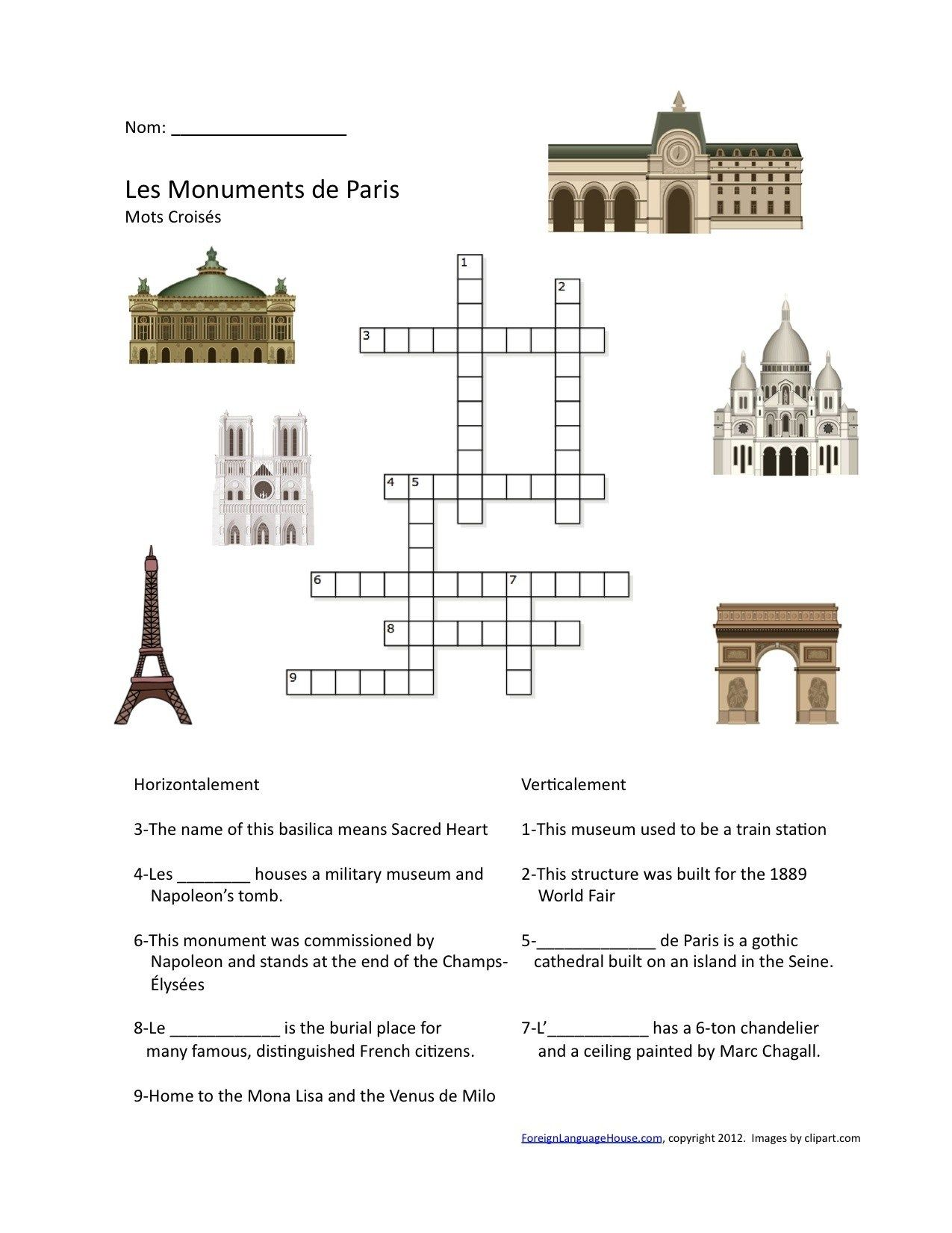 French Puzzles On Pinterest