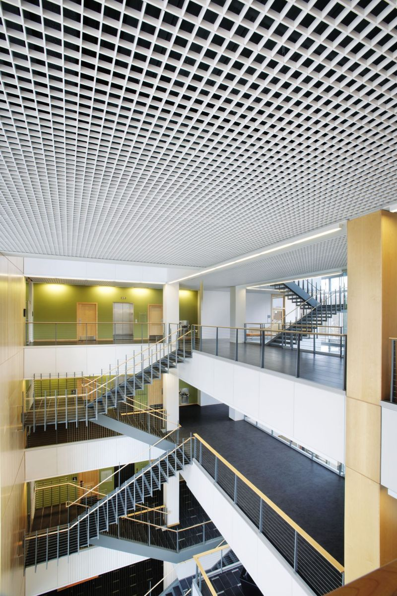 Metalworks Open Cell Cellio Tiles From Armstrong Ceiling Solutions Commercial