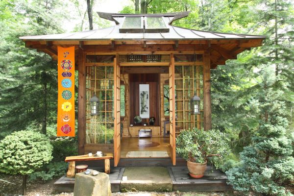 japanese garden house Our Japanese Tea Houses, reminiscent of authentic rustic
